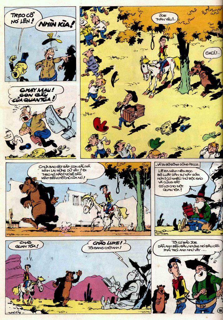 Lucky Luke tập 21 - sợi dây biết hát trang 25