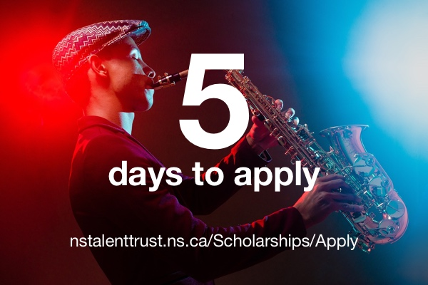 5 days to apply for a Talent Trust scholarship