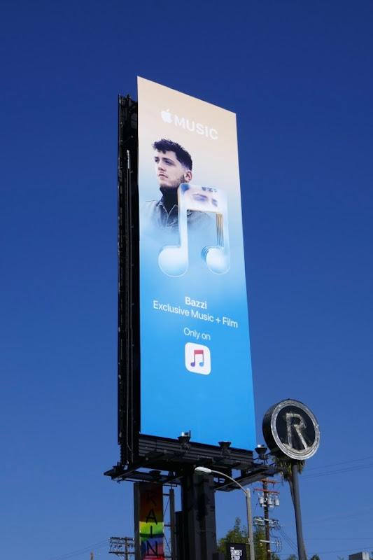 Apple Music Bazzi billboard