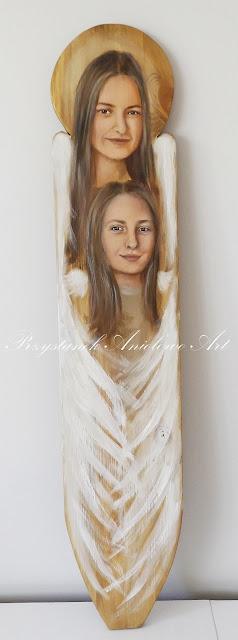 Portrety pięknych Aniołów