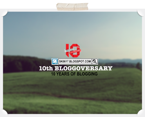 10th Blog Anniversary