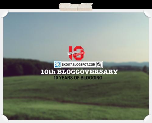 10th Blog Anniversary
