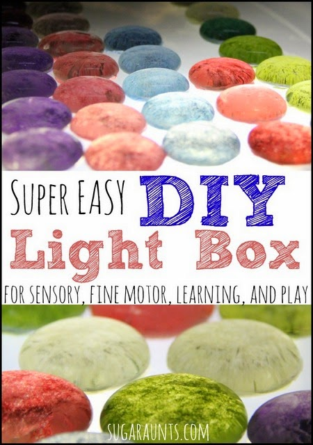 What is a light box used for? Sensory, learning, fine motor, and play