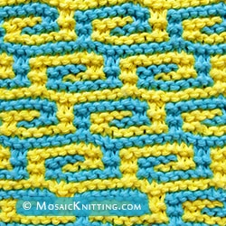 Fretwork - garter stitch