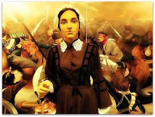 Florence Nightingale - Precursora da Enfermagem Científica (Museu de Ciência e Tecnologia da PUCRS)