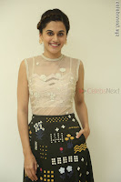 Taapsee Pannu in transparent top at Anando hma theatrical trailer launch ~  Exclusive 102.JPG