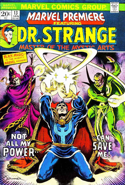 Marvel Premiere #13 / Doctor Strange marvel comic book cover by Frank Brunner