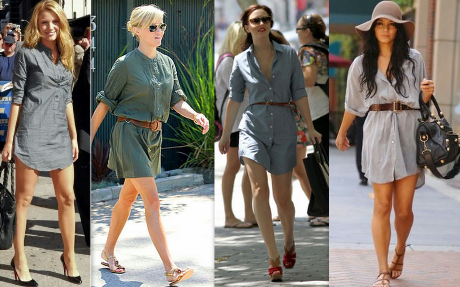 Wear Heels According To Your Shirtdress Length Jpg