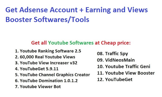 Youtube Adsense Earning Booster Account + Fully Channel Guideness