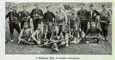 Voivoda Wolf with his Komitadjis