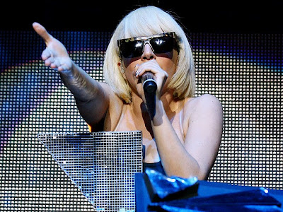 Popular Lady Gaga Desktop Wallpaper 2011