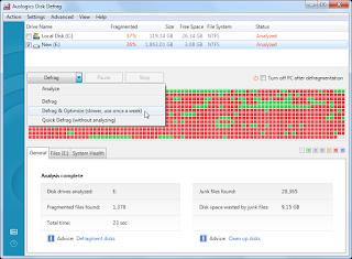 Download Auslogics Disk Defrag Free