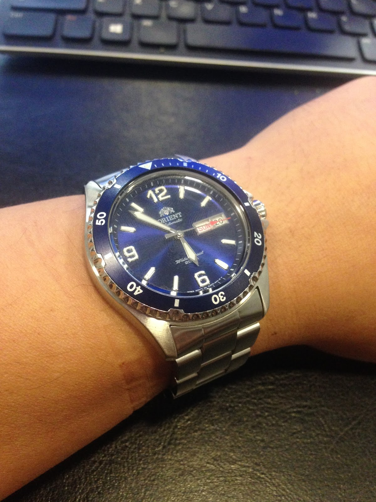 My Eastern Watch Collection: ORIENT Automatic MAKO II (or ...