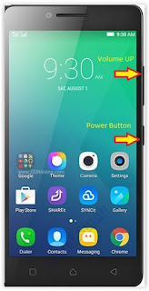 Hard Reset Android LENOVO A6010