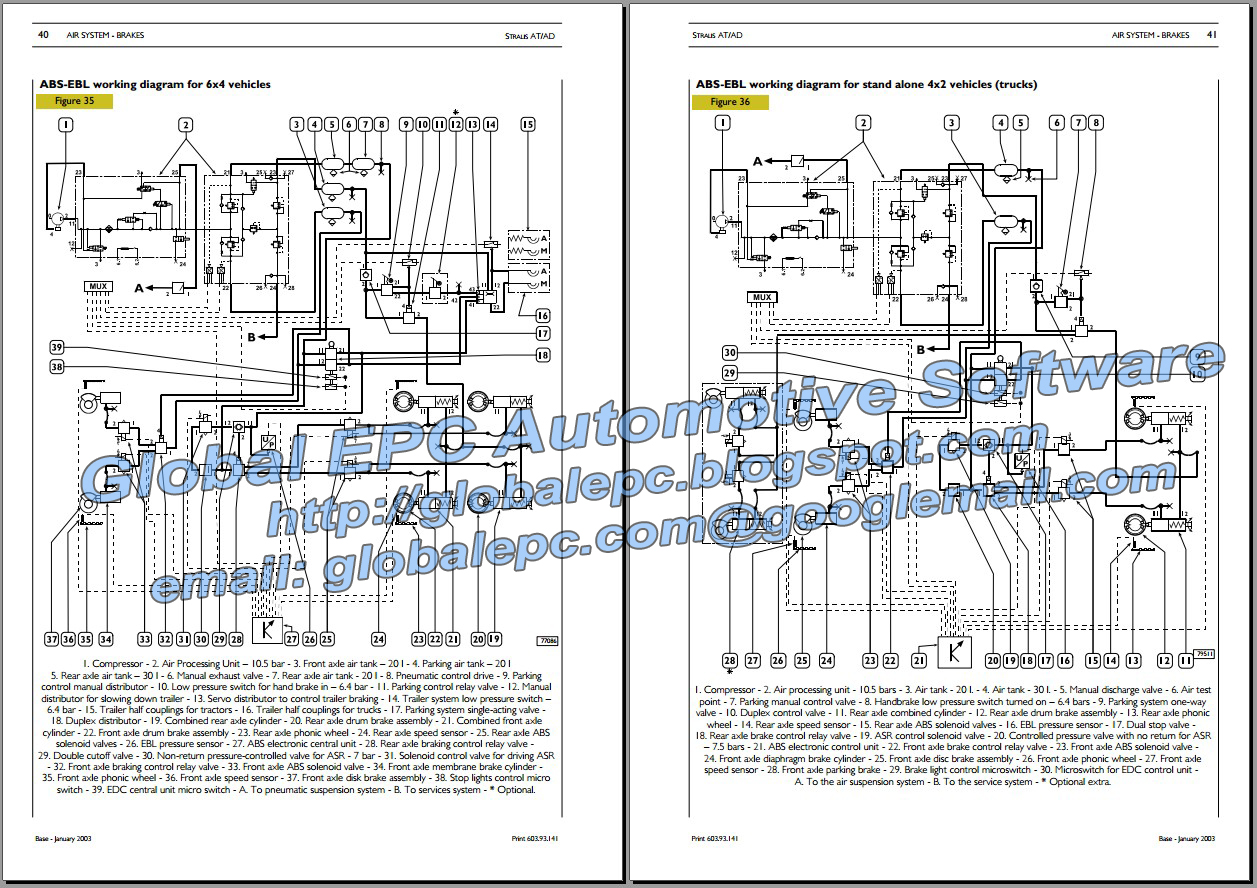 Automotive Repair Manuals  Iveco Stralis Repair Manual  U0026 Wiring Diagrams