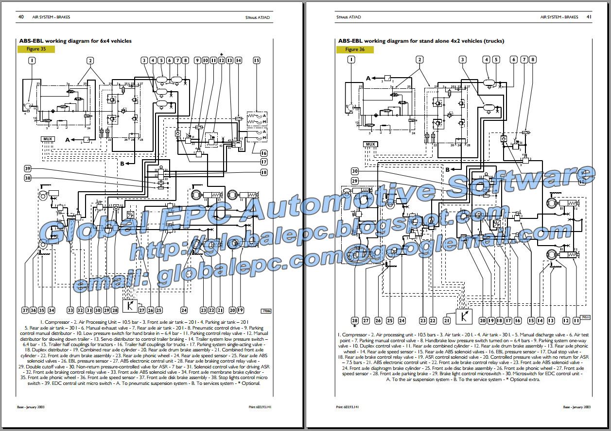 AUTOMOTIVE REPAIR MANUALS: IVECO STRALIS REPAIR MANUAL