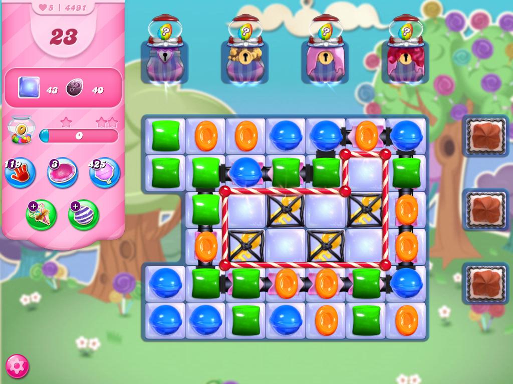 Candy Crush Saga level 4491