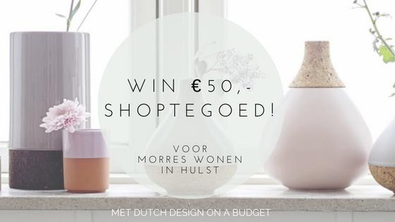 win  vijftig euro shoptegoed voor Morres Wonen