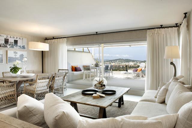 Apartamento de verano en la Costa Brava chicanddeco