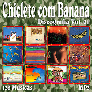 cd mp3 chiclete com banana 2011