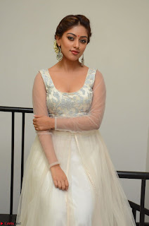 Anu Emmanuel in a Transparent White Choli Cream Ghagra Stunning Pics 043.JPG