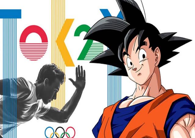 Goku será embajador de los juegos olímpicos 2020