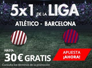suertia promocion Atlético vs Barcelona 14 octubre