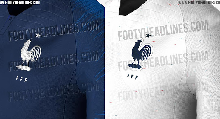 Most Unique Nike World Cup Kits So Far - Nike France 2018 World Cup Home    Away Kits Leaked a90c8b724