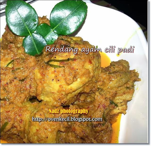 Resepi Rendang Ayam Hijau Negeri Sembilan - Surasmi I