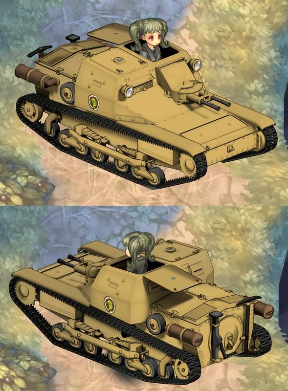 ToS MOD 戦車