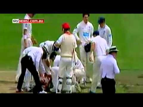 Phil Hughes Knocked Out By Bouncer At SCG Video