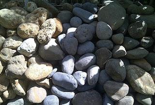 jual batu kali taman
