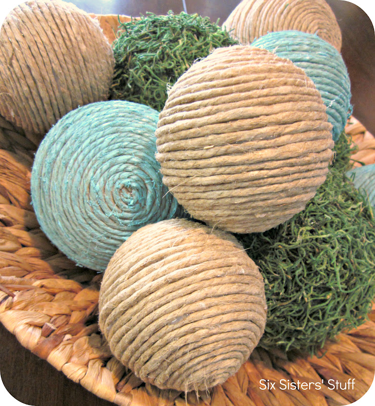 Diy Decor Balls: DIY Pottery Barn Inspired Decorative Balls