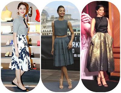 box pleat midi skirt, fashion style 22015, fashion 2016, fashion in 2015-2016,