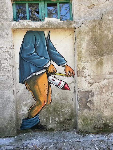 urka street art graffiti murales