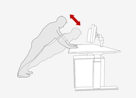 push up olahraga ringan di kantor