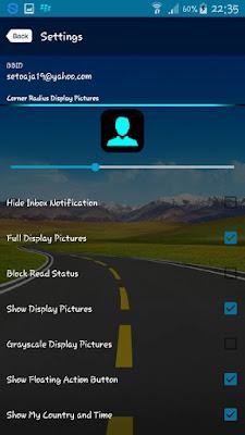BBM Mod Transparan Versi 2.13.0.22 (Clone)