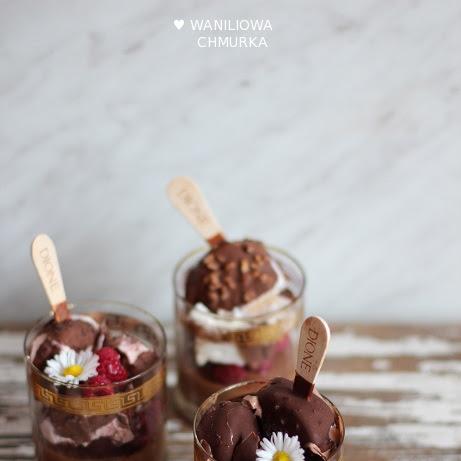 Mus czekoladowy z lodami
