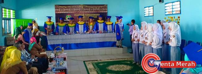 Gelar Purnasismadya, Kepsek SMA PGRI Kotabumi Harapkan 77 Siswanya Lulus  100%