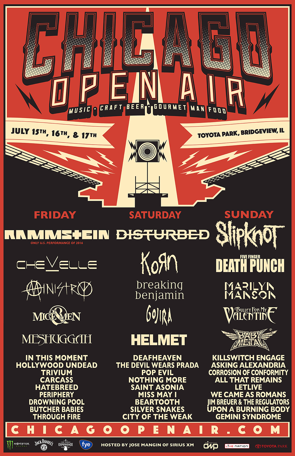 Chicago Open Air Festival 2016