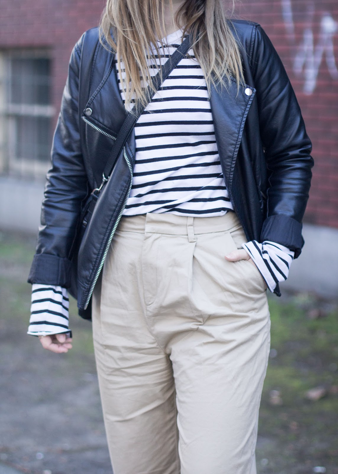 new Spring trousers - khakis - chinos - Outfit - Vancouver Fashion Blogger
