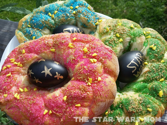 Star Wars Italian Easter Egg Bread