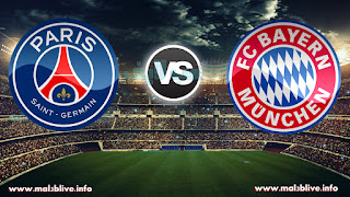 مشاهدة مباراة بايرن ميونخ وباريس سان جيرمان  Bayern Munich Vs Paris Saint-Germain بث مباشر بتاريخ 05-12-2017 دوري أبطال أوروبا