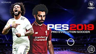 PES 2019 Mobile Android UCL Graphics Patch 400 MB Compressed