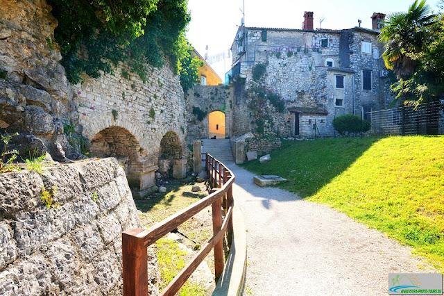 Kaštel utvrde grada Poreča