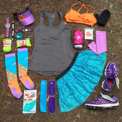 1193191289 This is what it looks like to have your race outfit centered completely  around a specific pair of PRO Compression socks  )  RunMatchy