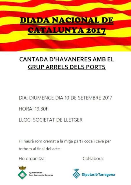 Esguard de Dona - Diada de l'11 de setembre 2017 - Municipi de Sant Jaume dels Domenys