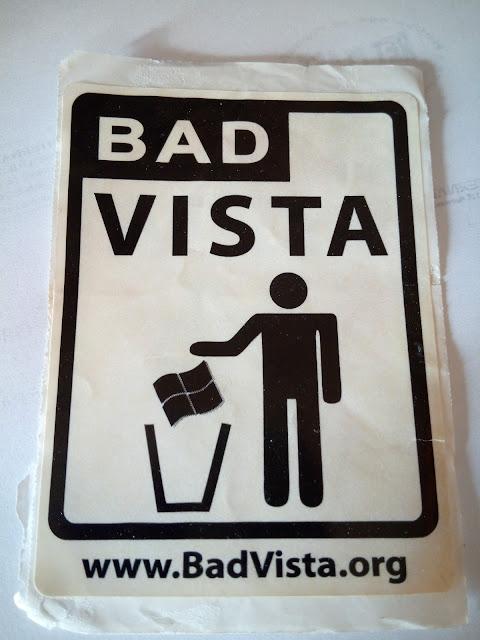 Enganxeta: Bad Vista - www.BadVista.org