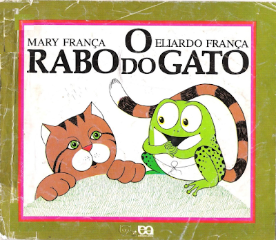 Capa do livro O RABO DO GATO, de Mary e Eliardo França