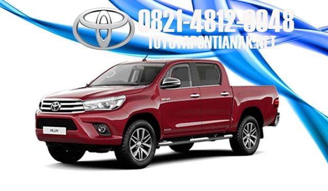 Simulasi kredit mobil Toyota HILUX pontianak, harga toyota HILUX pontianak, sales toyota pontianak